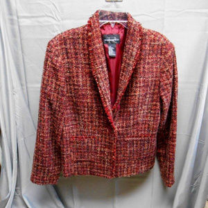 Requirements multi color lined blazer 12